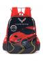 Mochila Infantil Chevrolet Corvette - Preto / Vermelho