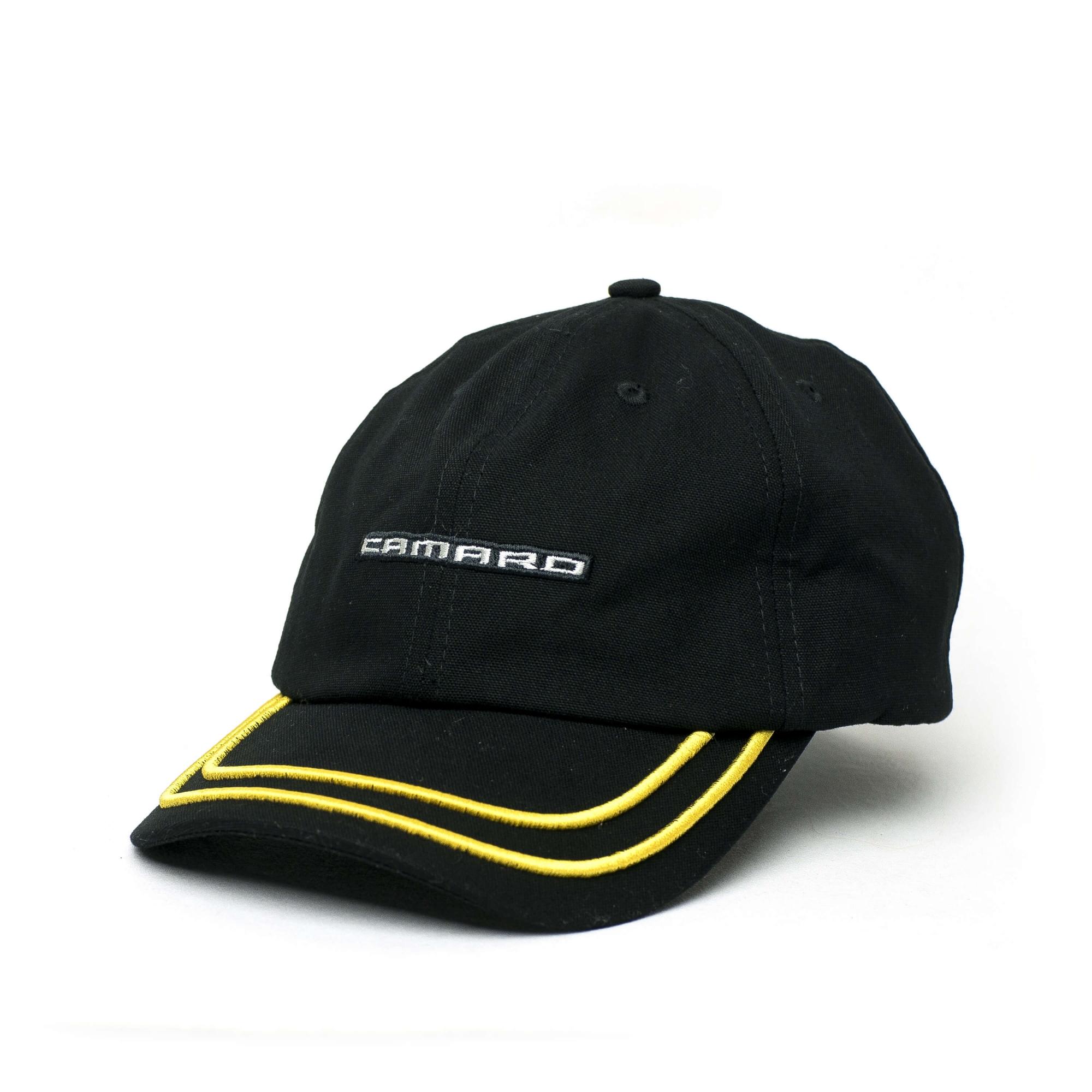 Boné Dad Hat Chevrolet Camaro Lettering - Preto Mescla