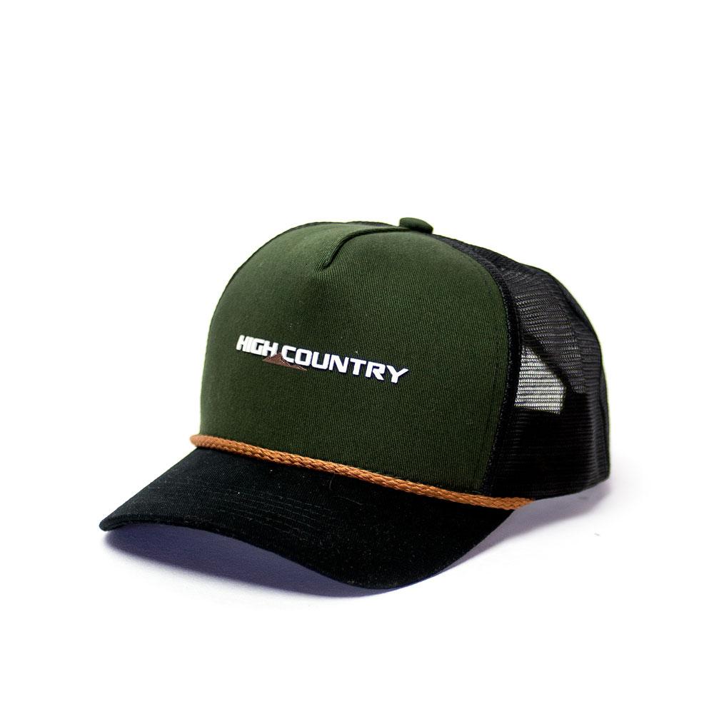 Boné Trucker Chevrolet High Country - Verde Militar