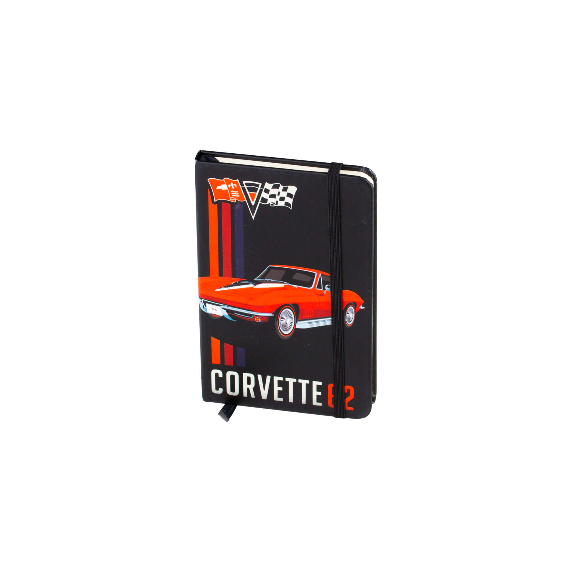 Caderneta de Anotação Chevrolet - Corvette - Preto - 96 folhas