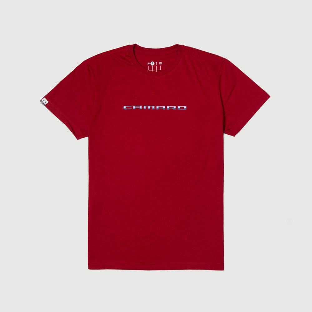 Camiseta DTG Chevrolet - Camaro - Red - Vermelho
