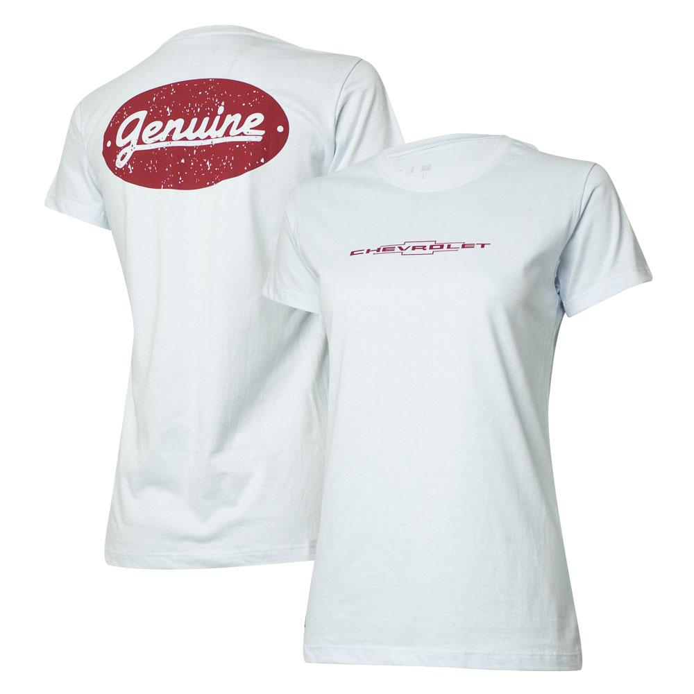 Camiseta Fem. Chevrolet Genuine - Branca