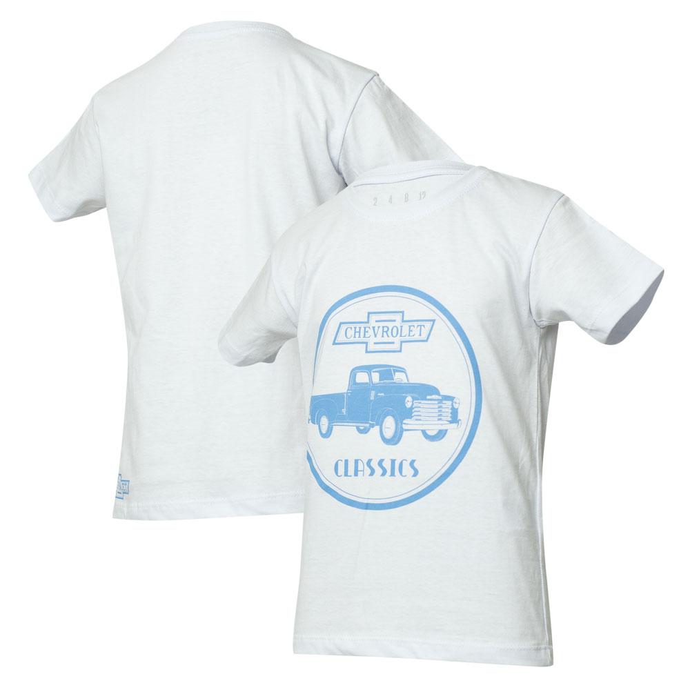 Camiseta Inf. Chevrolet Classics 1914 - Branca