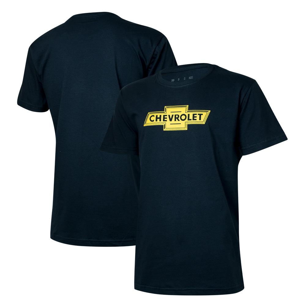 Camiseta Masc. Chevrolet Classics - Azul Marinho