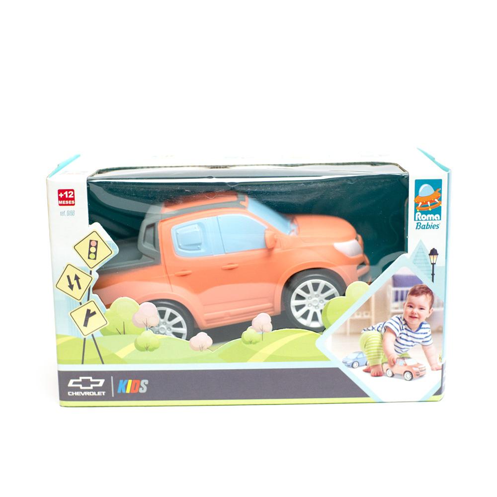 Miniatura Chevrolet Baby - S-10 - Salmão