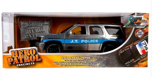 Miniatura Chevrolet Hero Patrol 1:24 - Prata