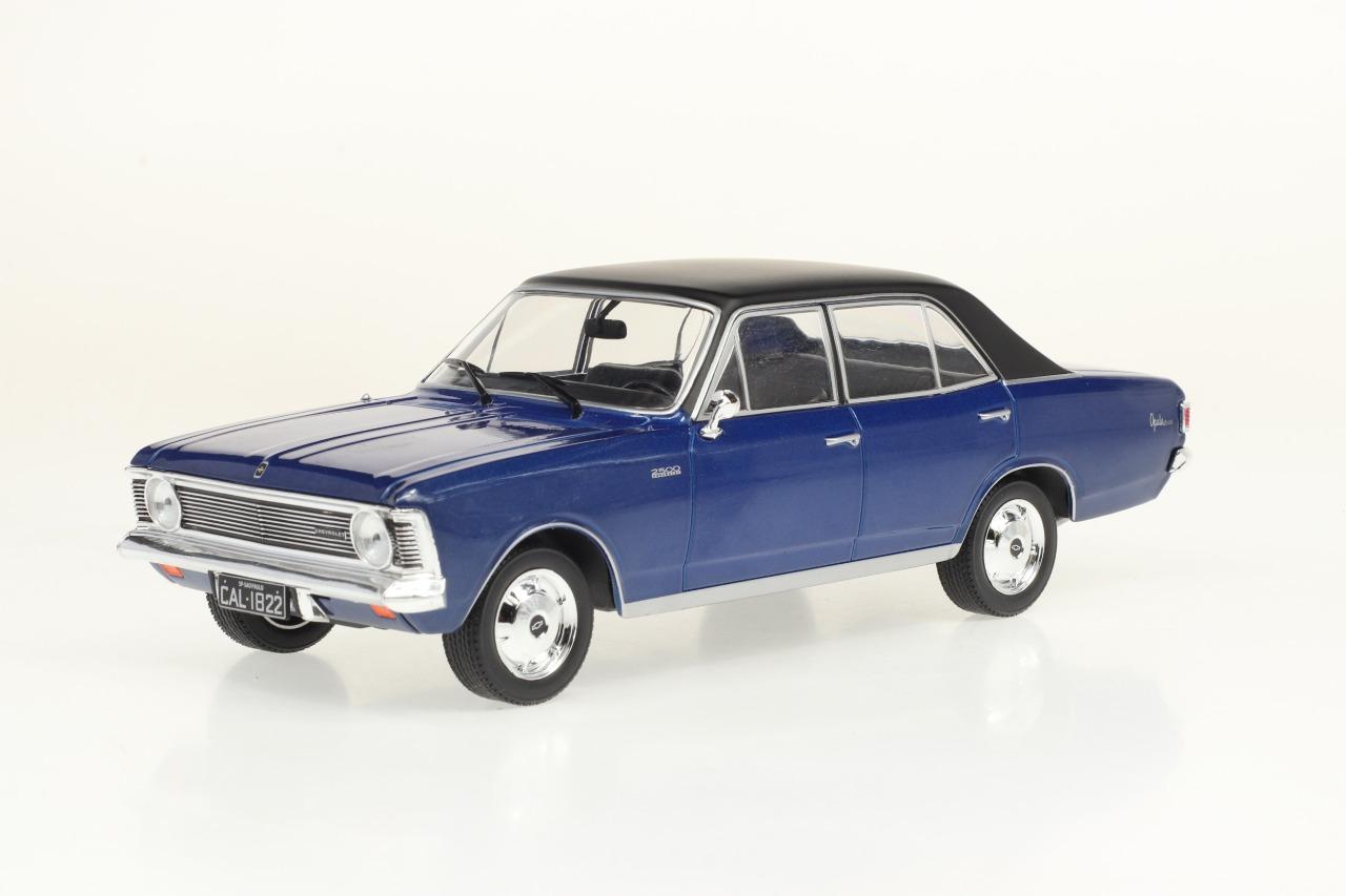 Miniatura Chevrolet Opala 1969 - 1:24 - Azul