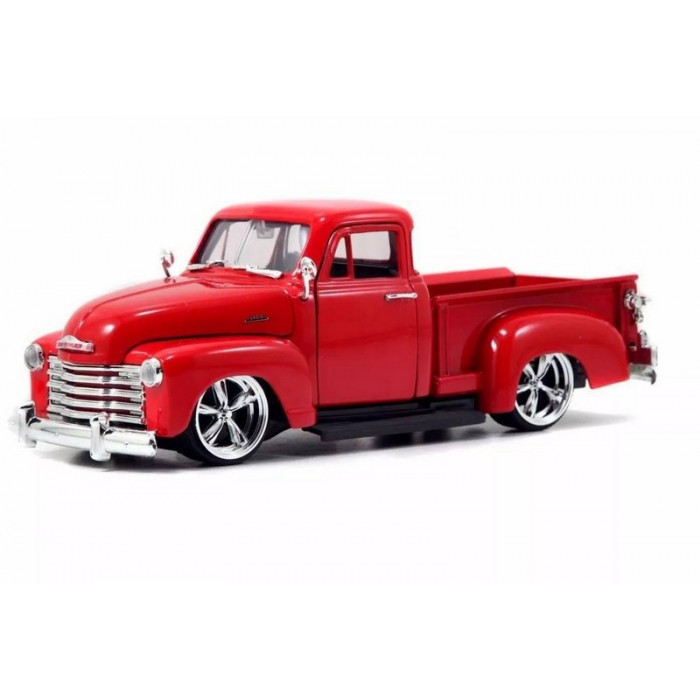 Miniatura Chevrolet Pick Up 1953 Just Truck 1:24 - Vermelho
