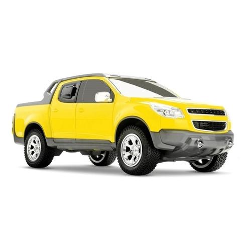 Miniatura Chevrolet - S-10 Rally - Amarela