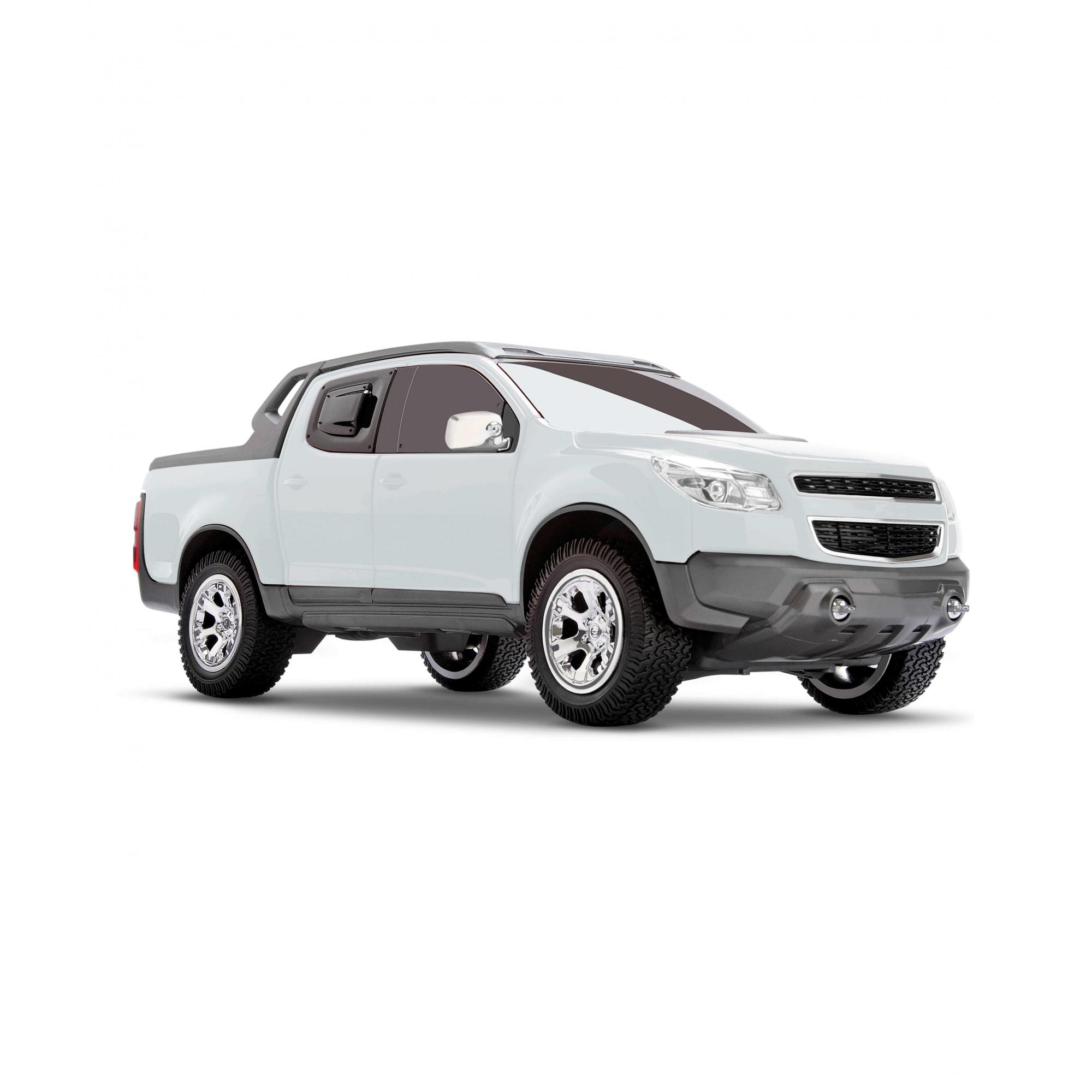 Miniatura Chevrolet S-10 Rally - Branca