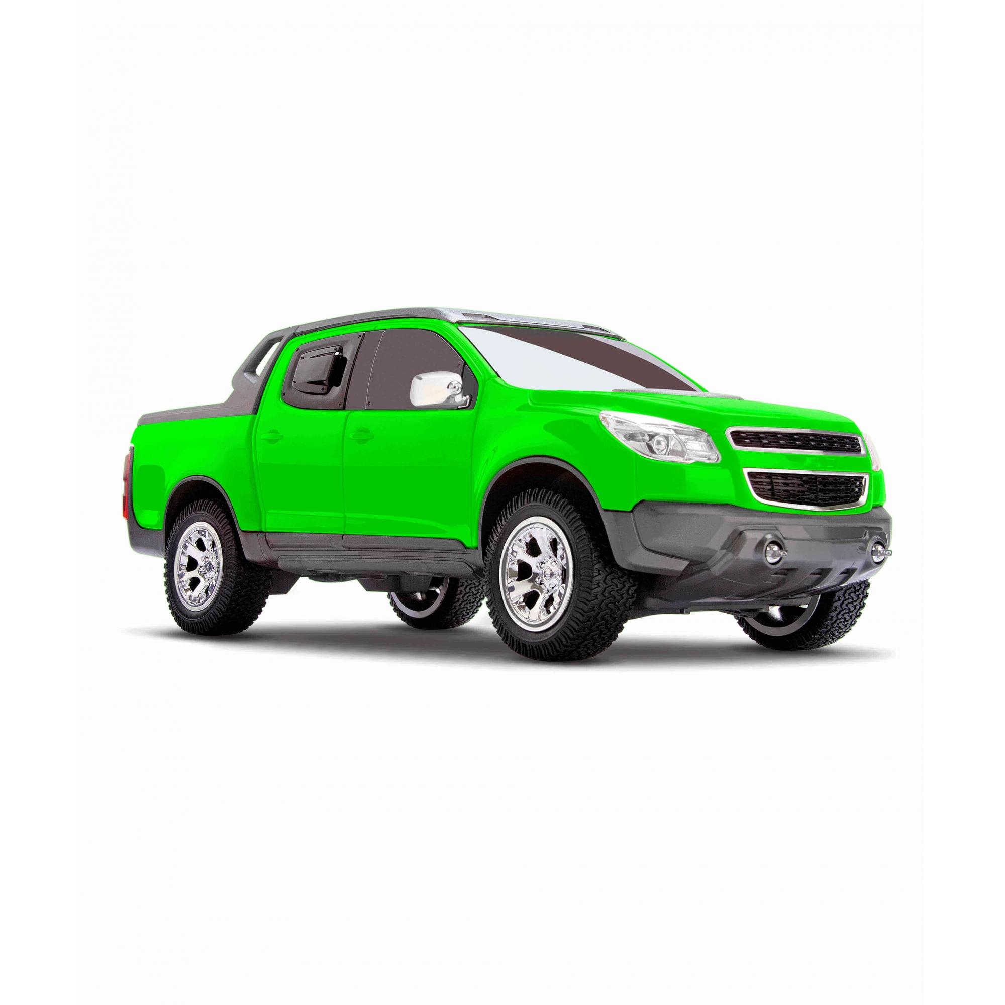 Miniatura Chevrolet S-10 Rally - Verde