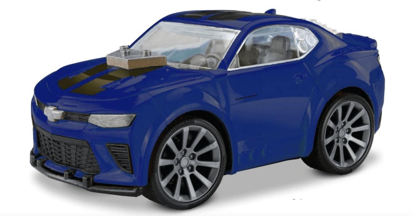 Miniatura para Montar Chevrolet - Camaro - Azul