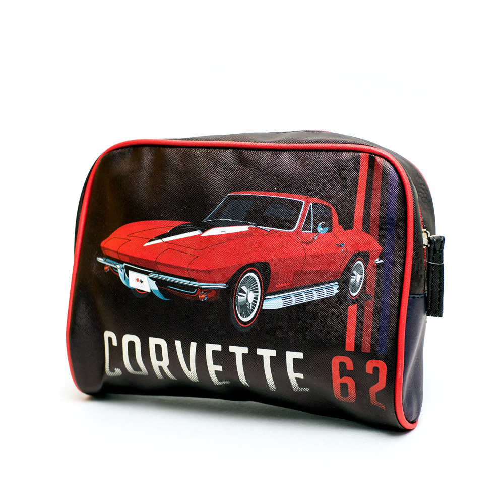 Necessaire PU Chevrolet - Corvette - Preto