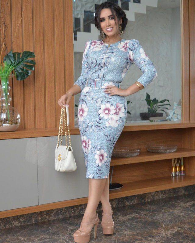 Vestido Midi Graziella