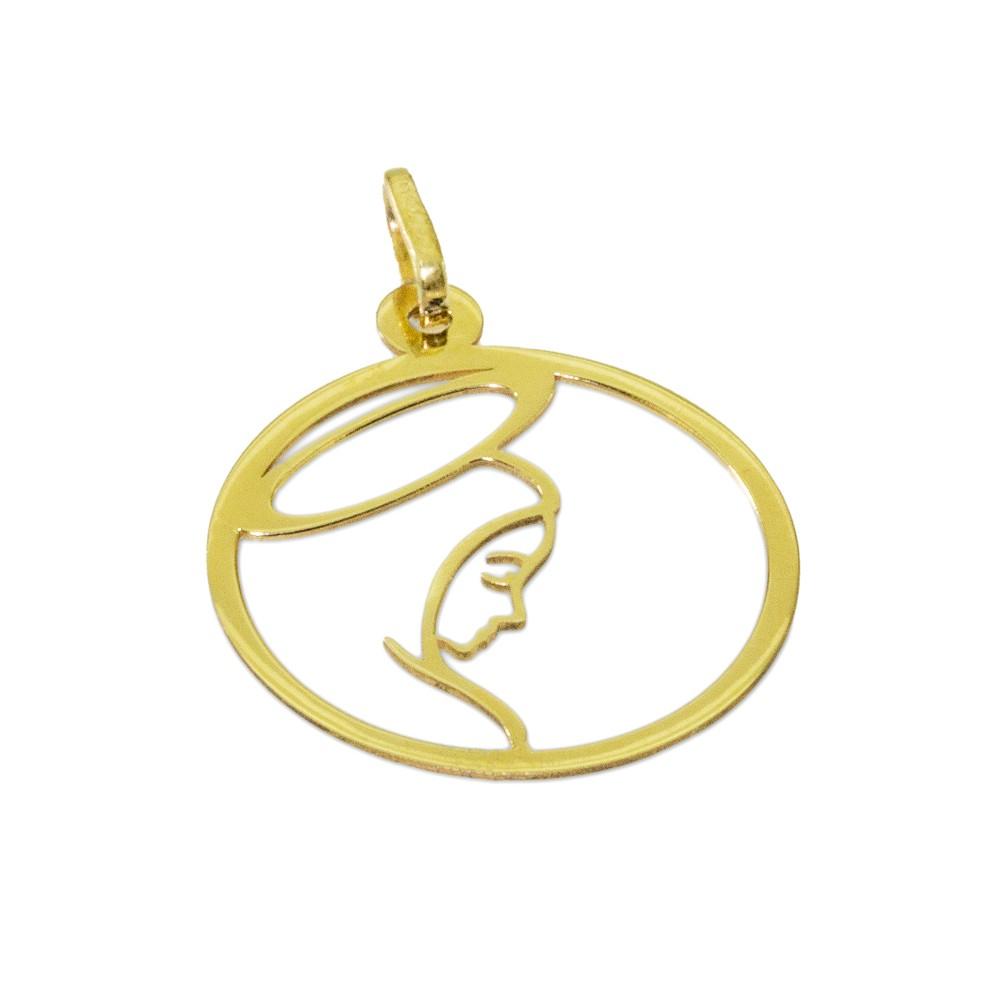 Pingente Maria Mãe de Jesus Ouro 416