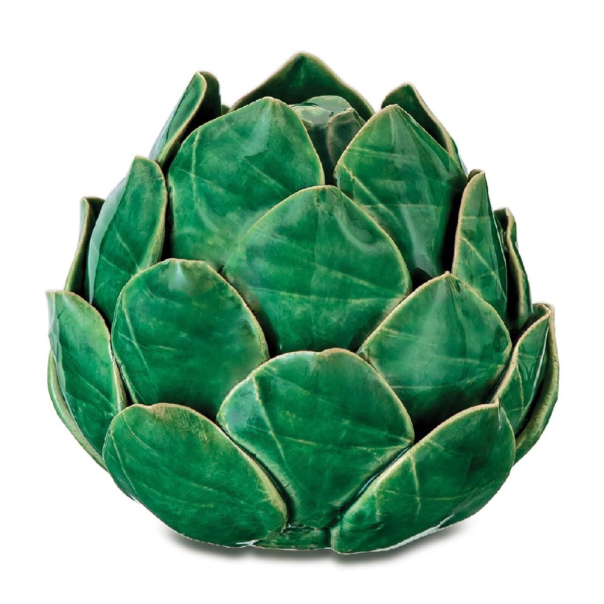 Alcachofra em Cerâmica