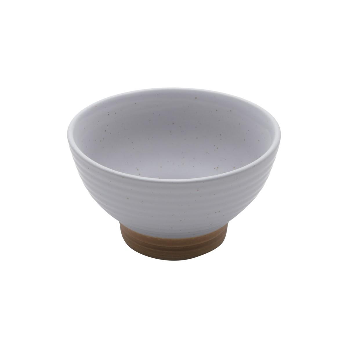 Bowl Cerâmica Romance Cinza