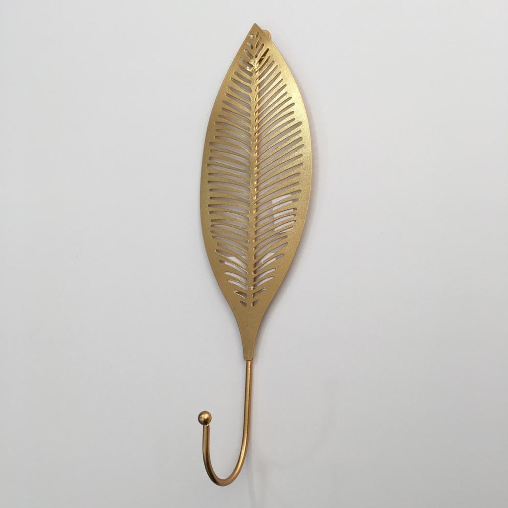 Cabideiro Folha Gold