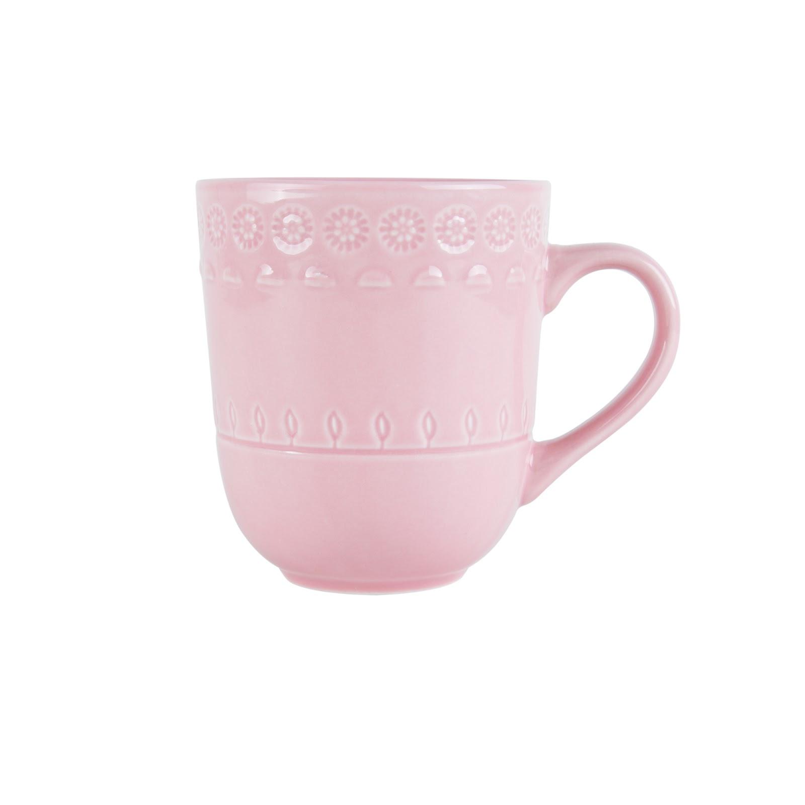 Caneca de Porcelana Grace Rosé