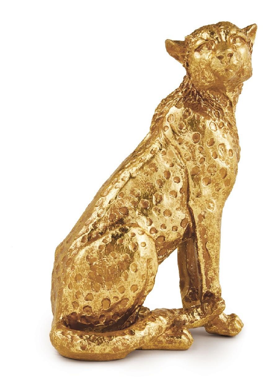 Escultura de Leopardo - G