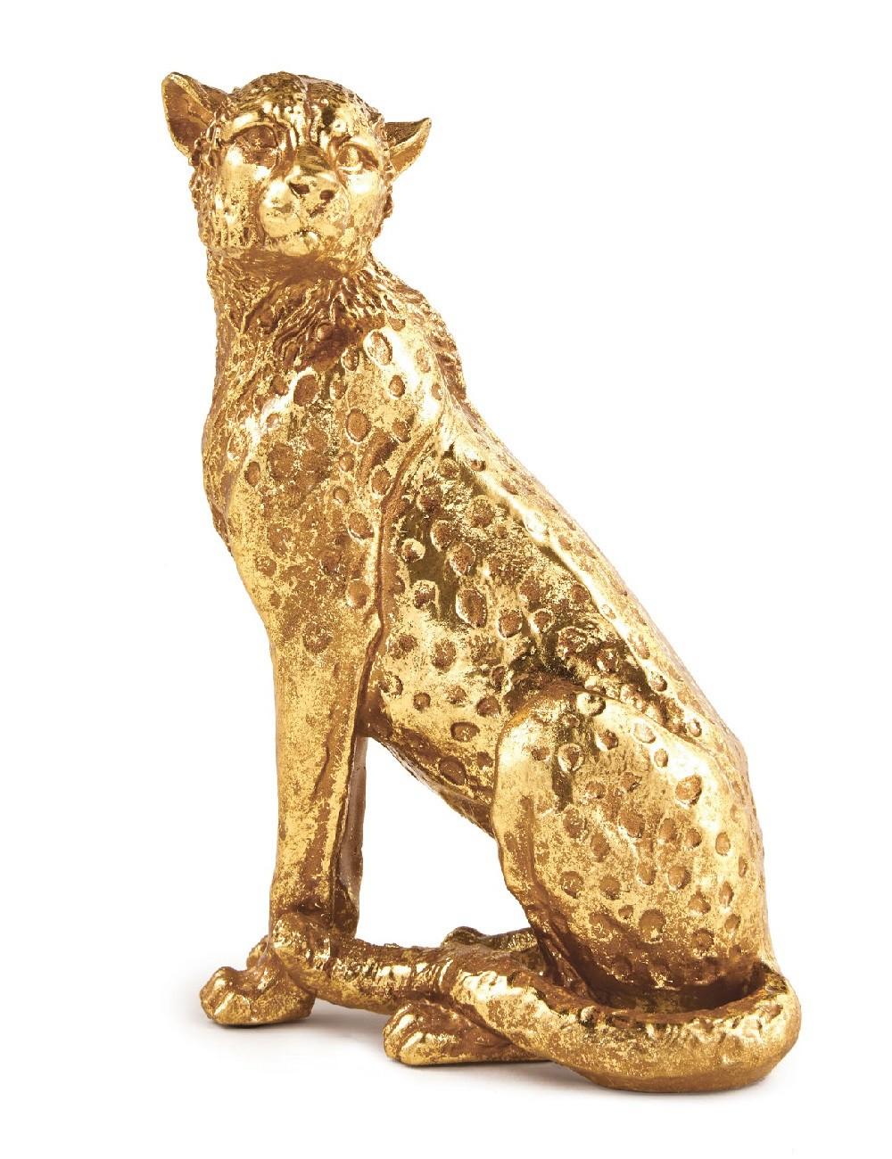 Escultura de Leopardo - M