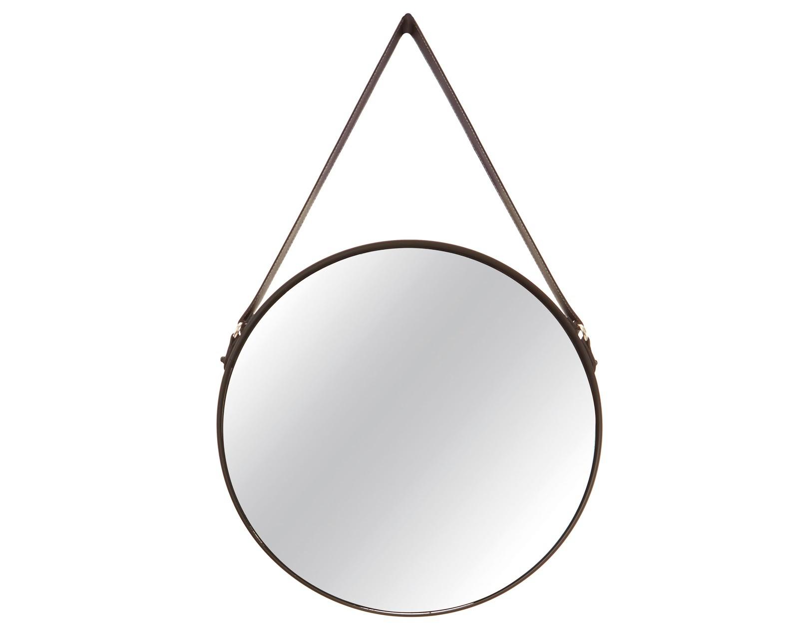 Espelho com Alça - Preto