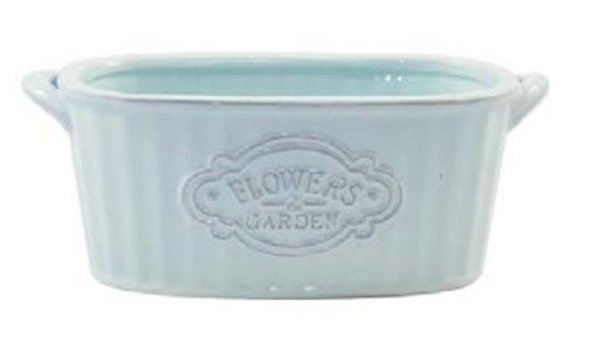 Jardineira de Cerâmica - Azul