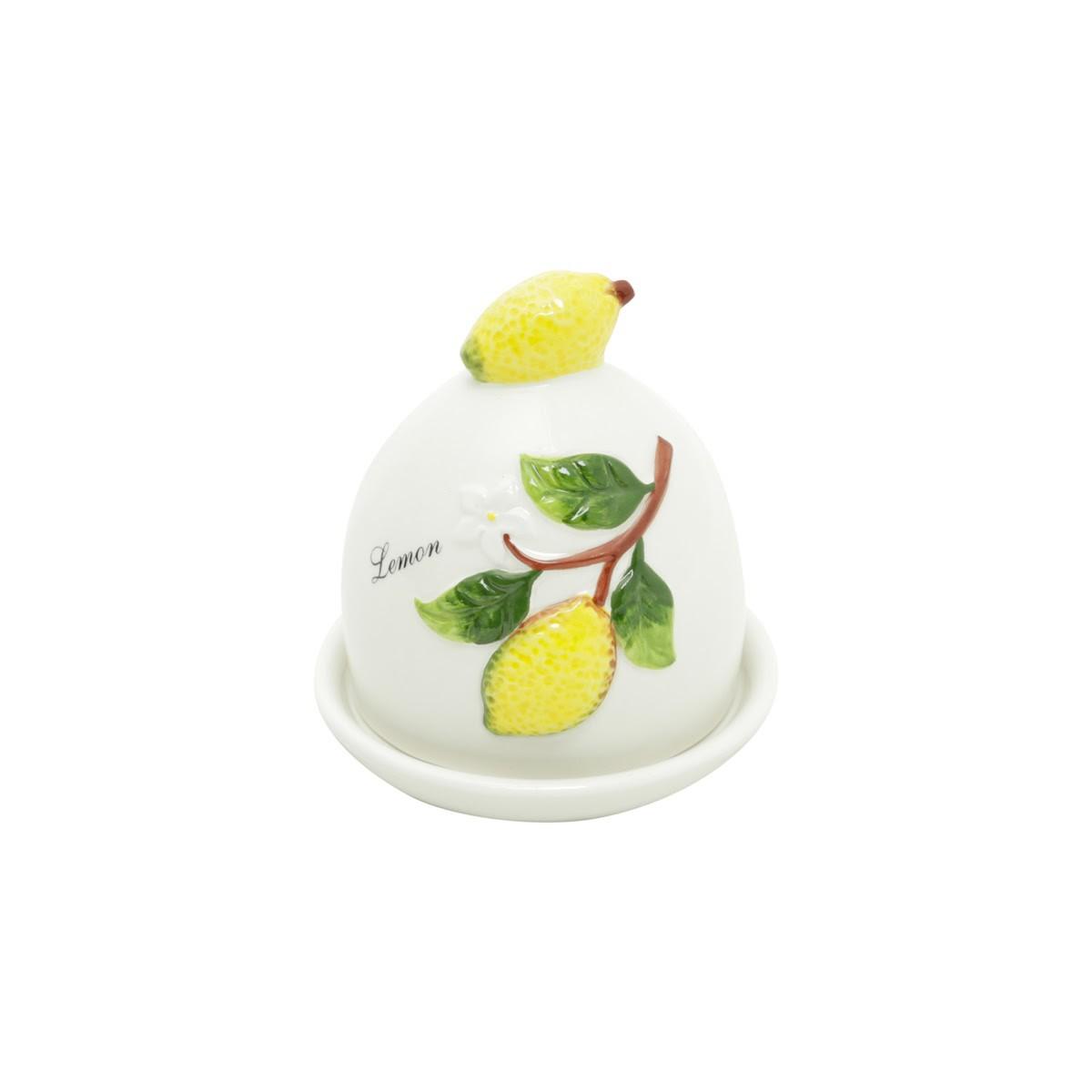 Manteigueira Cerâmica Lemons