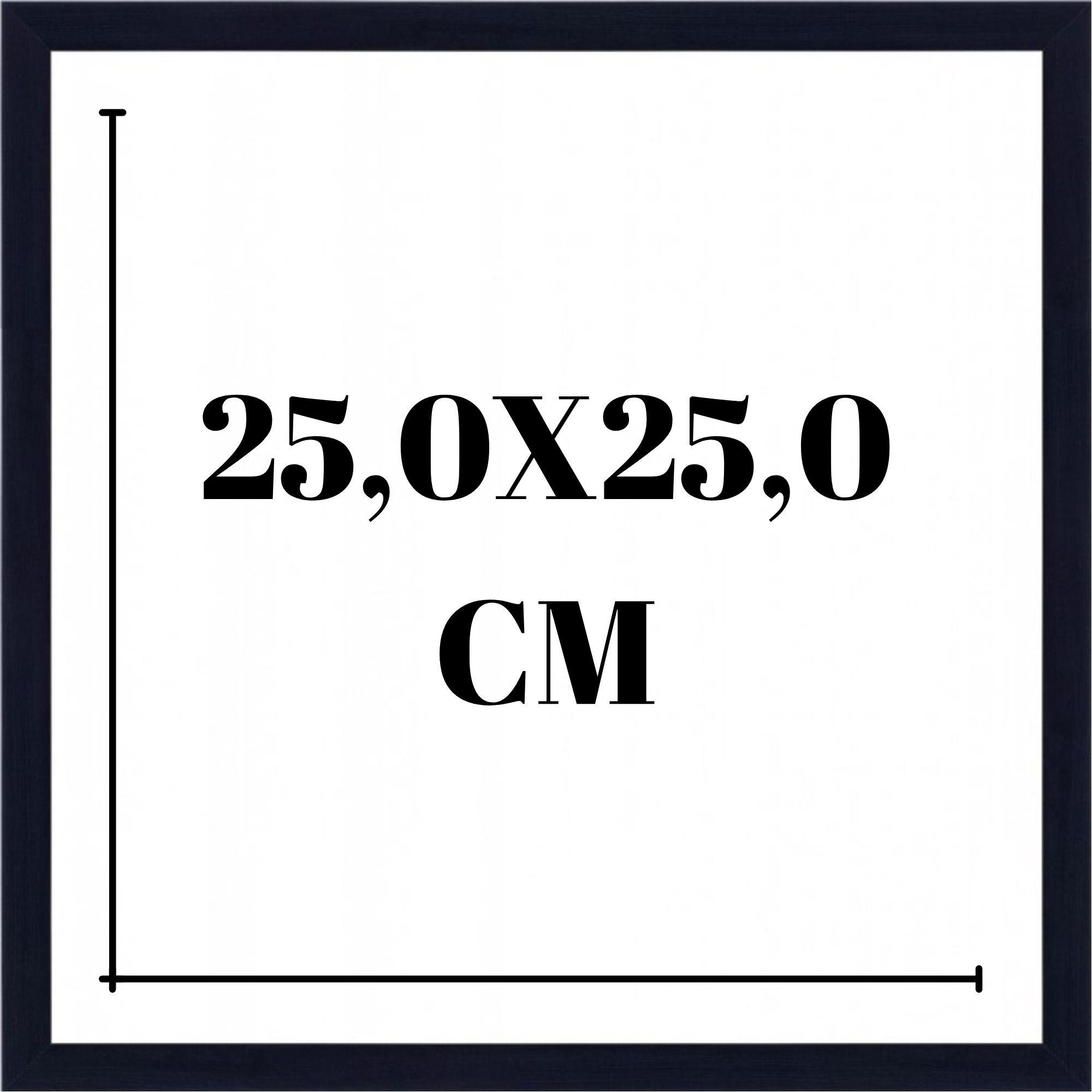 Moldura 25x25 cm