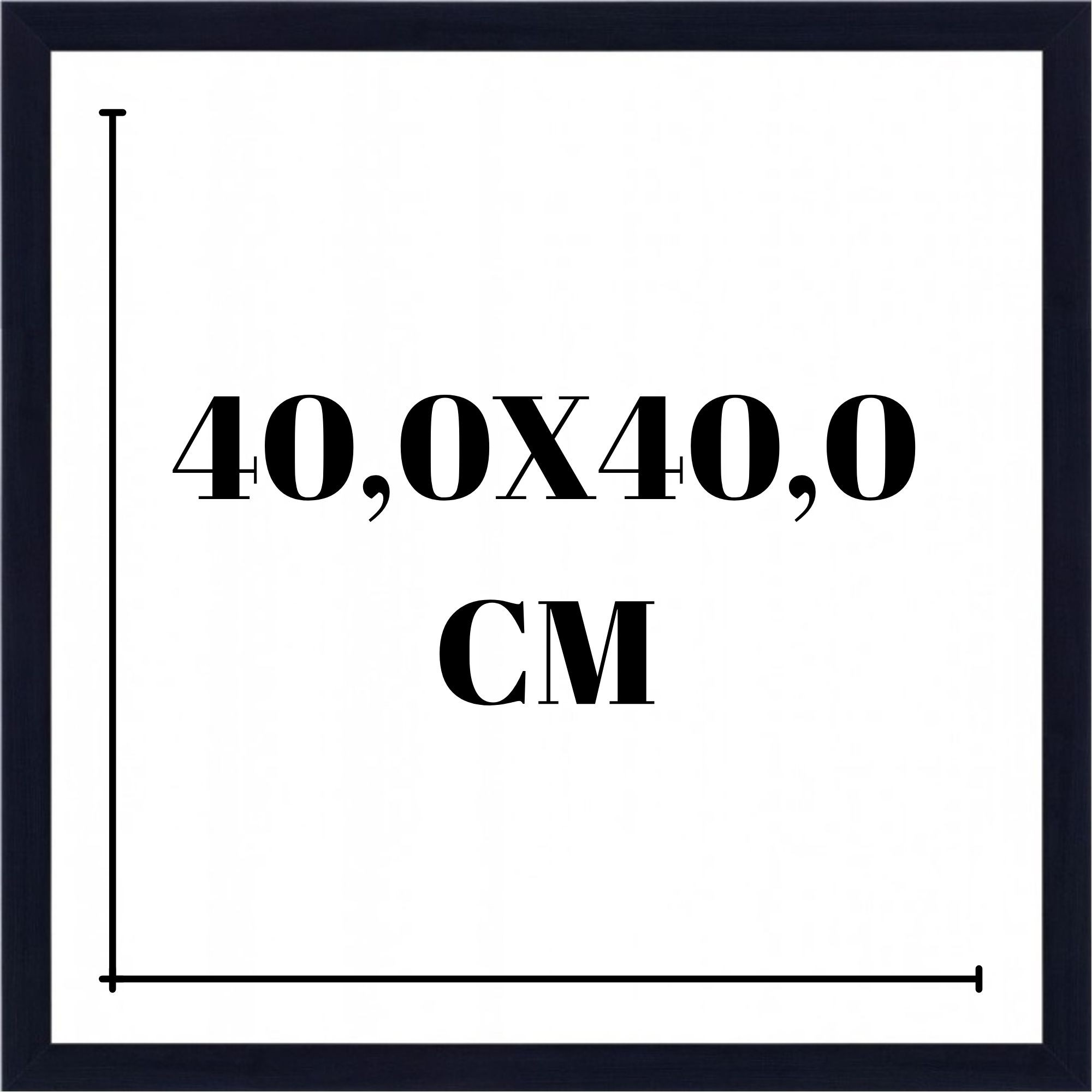 Moldura 40x40 cm