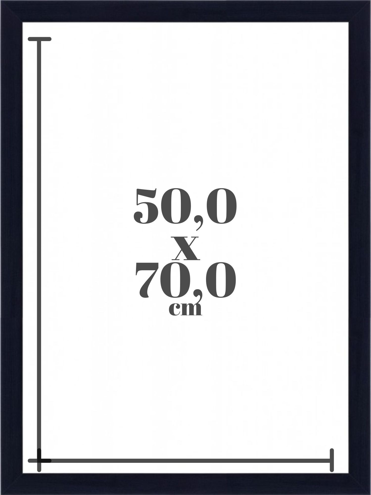 Moldura 50x70 cm