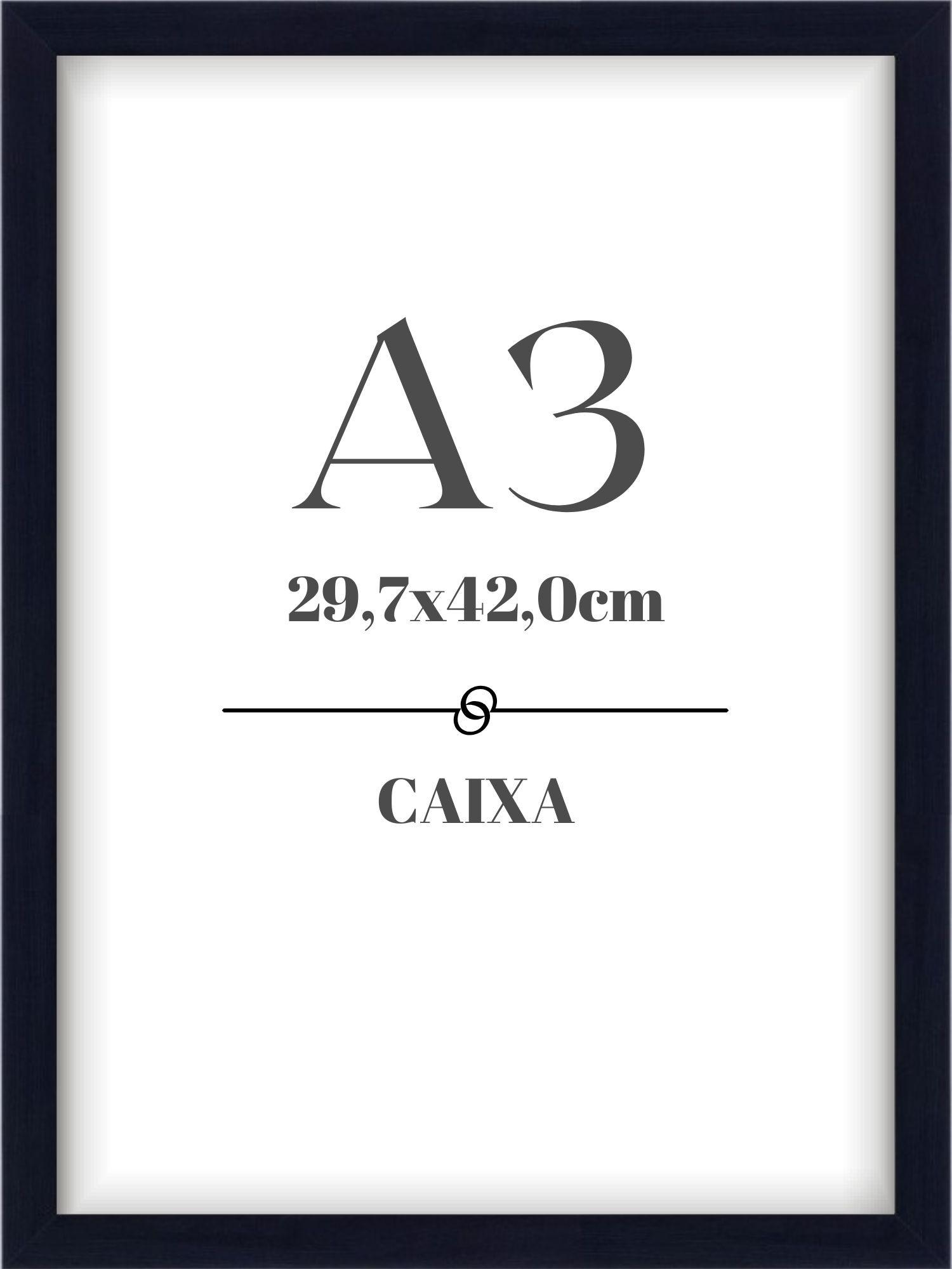 Moldura Caixa - A3