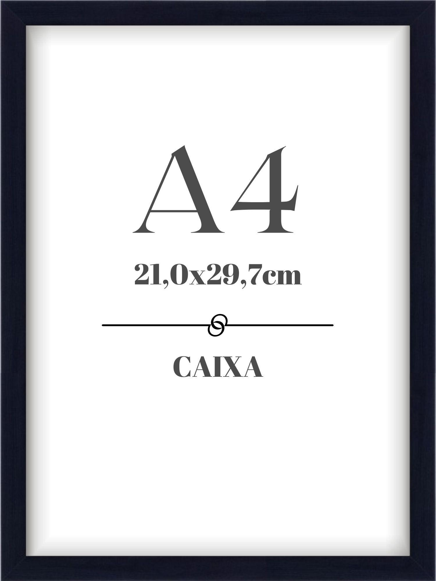 Moldura Caixa - A4
