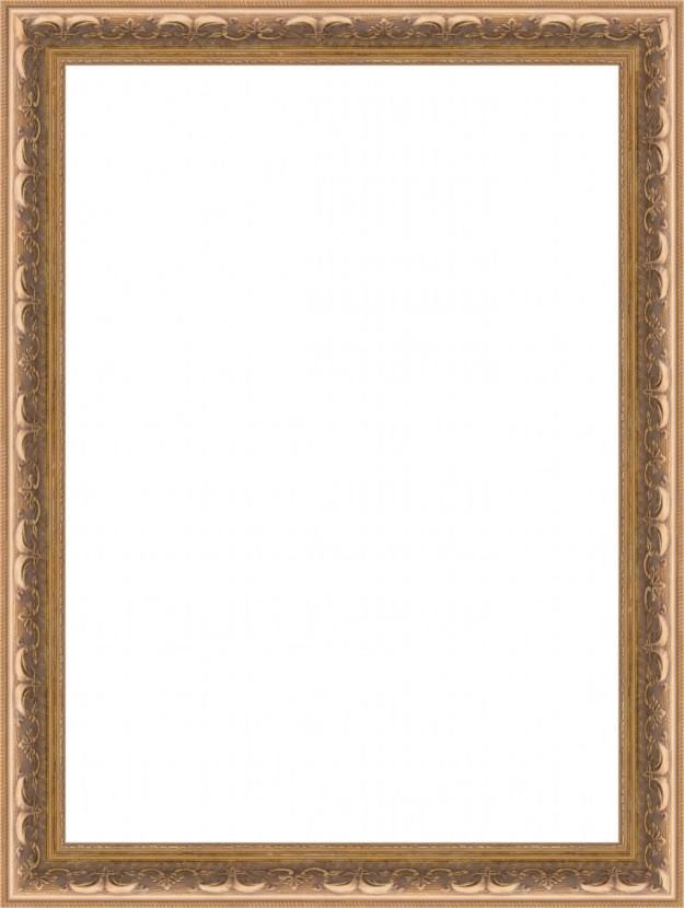 Moldura Ouro Envelhecido - Estilo Rococó