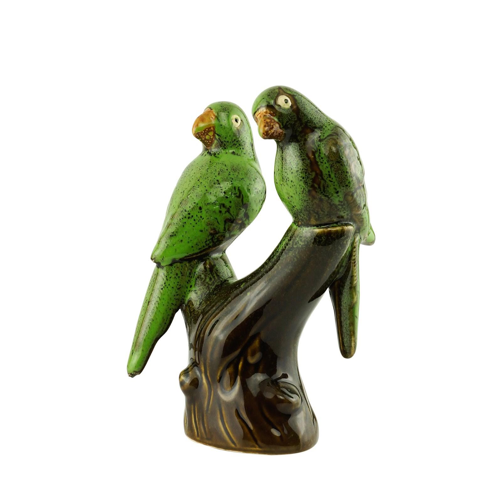 Pássaros de Cerâmica