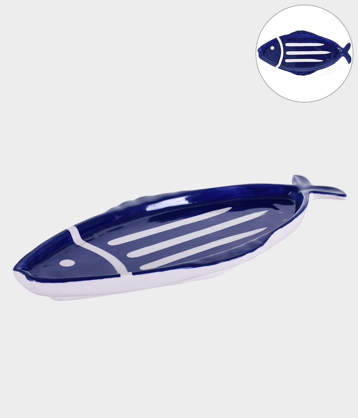 Petisqueira Peixe - Azul