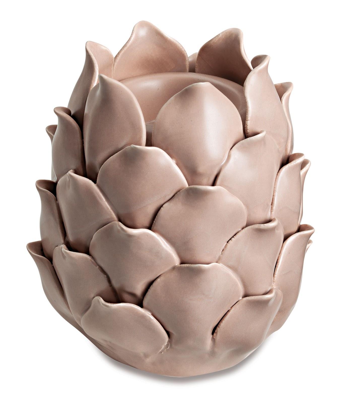 Porta Velas em Cerâmica - Conde Rosé