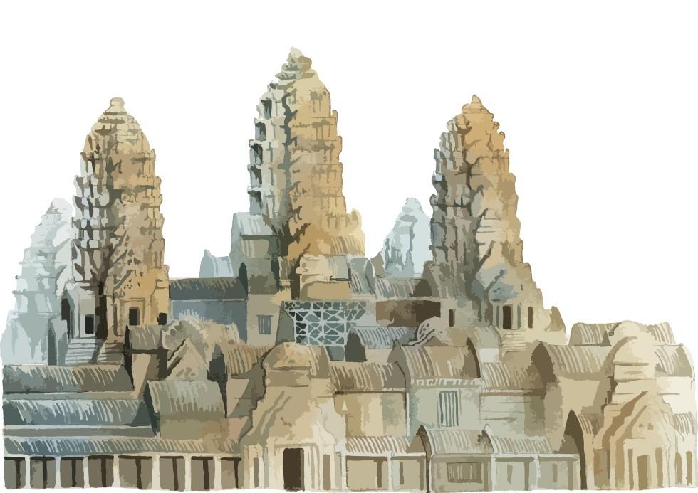 Pôster Angkor Wat