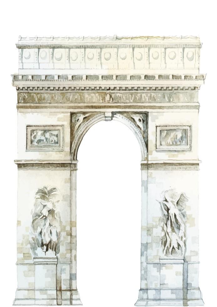 Pôster Arco do Triunfo
