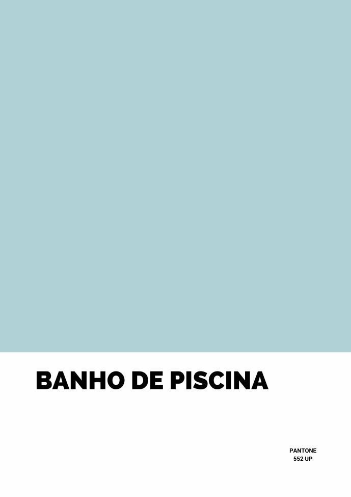 Pôster Banho de Piscina