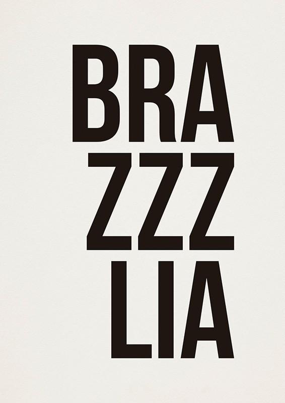 Poster BRAZZZLIA A2