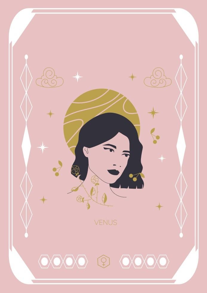 Pôster Cart Venus
