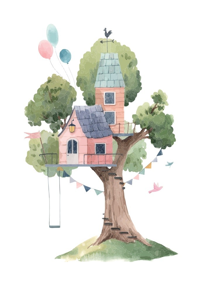 Pôster Casa na Árvore II
