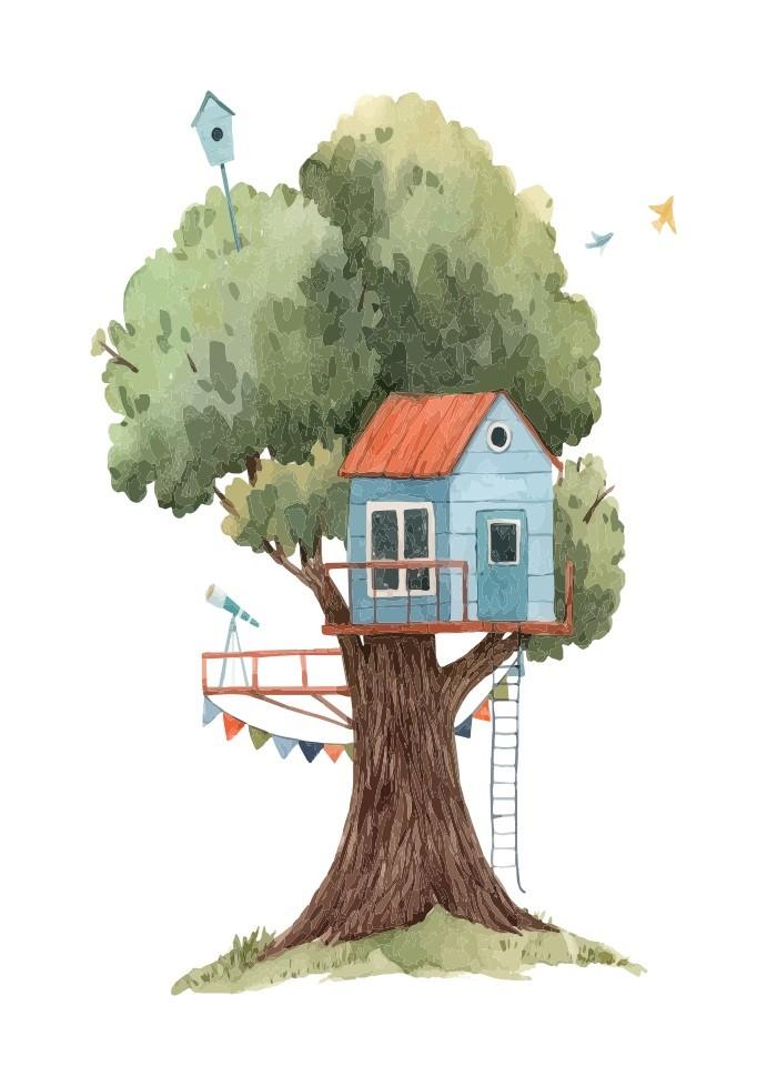 Pôster Casa na Árvore III