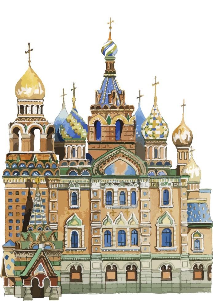 Pôster Catedral de São Basílio