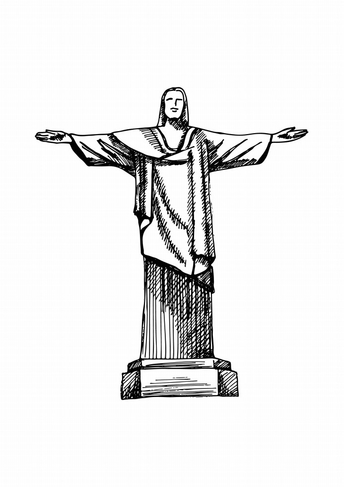Pôster Cristo Redentor