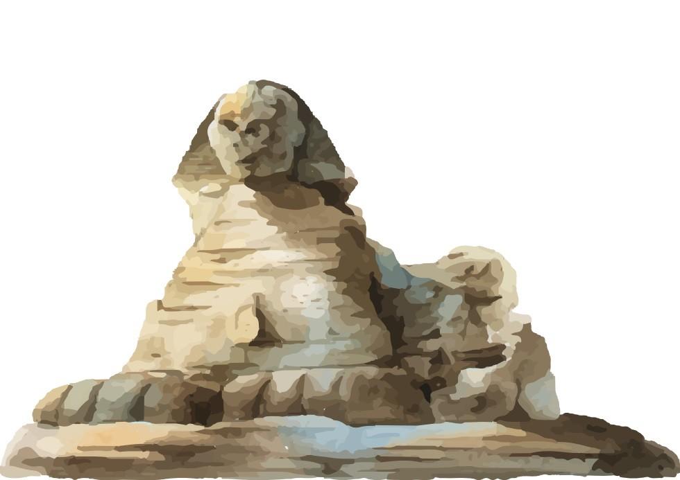 Pôster Esfinge de Gizé