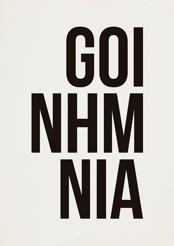 Poster GOINHMNIA A2