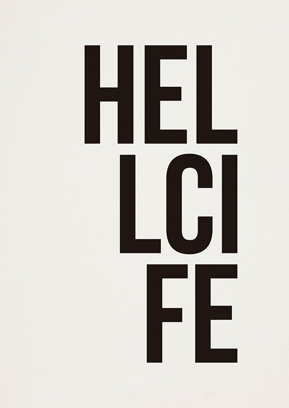 Poster HELLCIFE A2