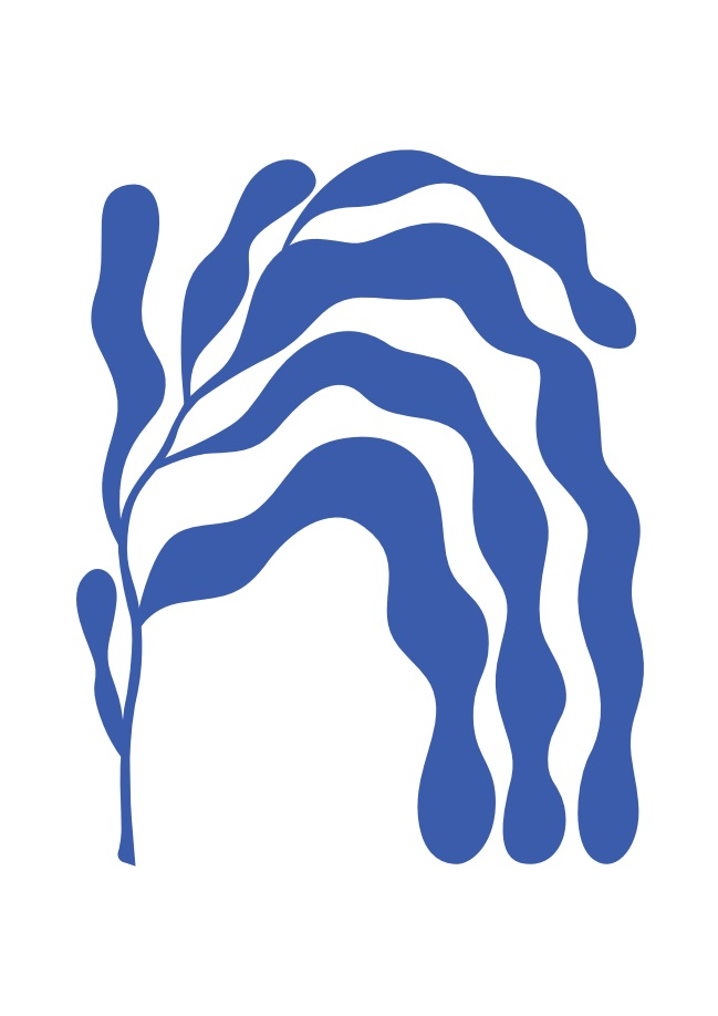 Pôster Matisse Blue III